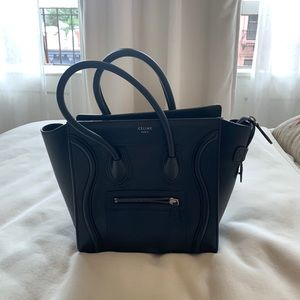 Celine Micro Luggage Tote